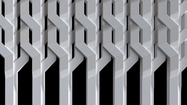Black pixels personal site Eval - fabrik | ello
