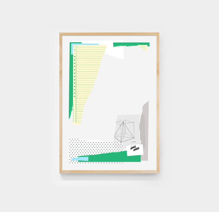 Rip Stick. Arranged paper snipp - andrebritz | ello