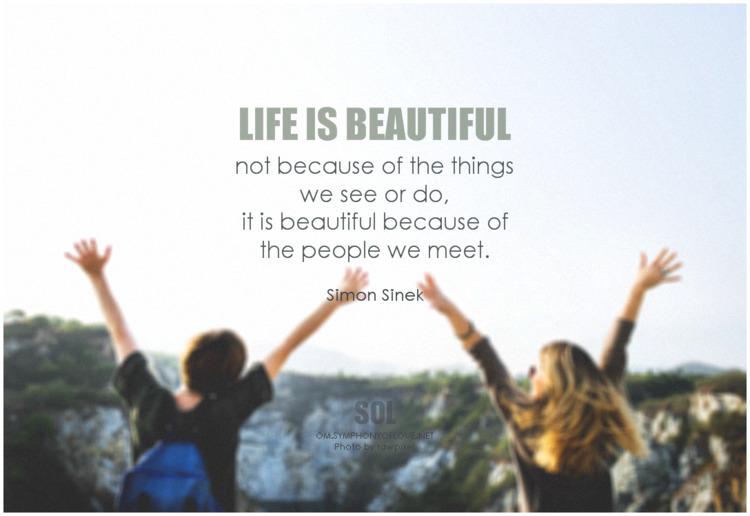 Life beautiful people meet. quo - symphonyoflove   ello