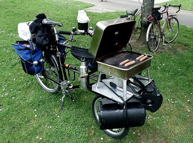Happy Labor Day, grill bamboo b - greenstarbikes | ello