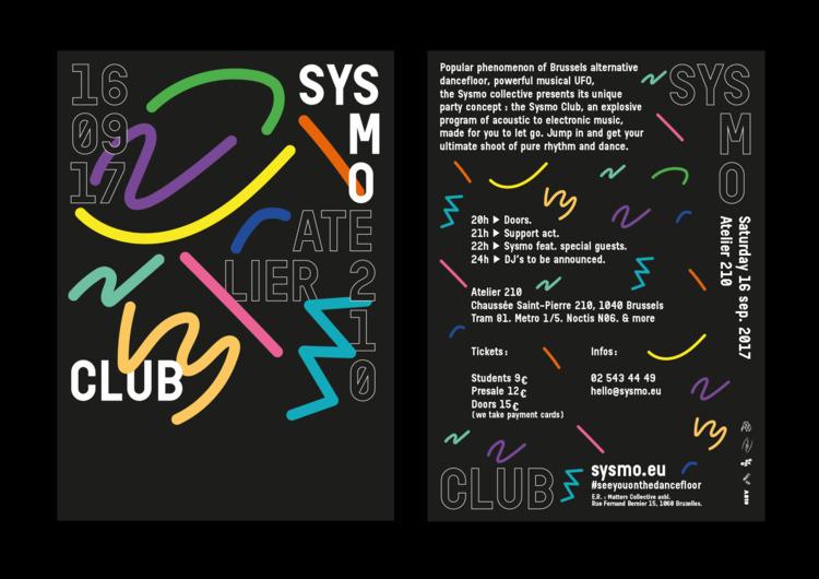 Flyer Sysmo Club - timcolmant | ello