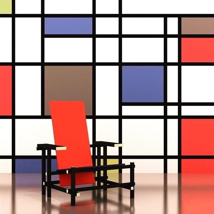 - designed 1918 designer Gerrit - bauhaus-movement | ello