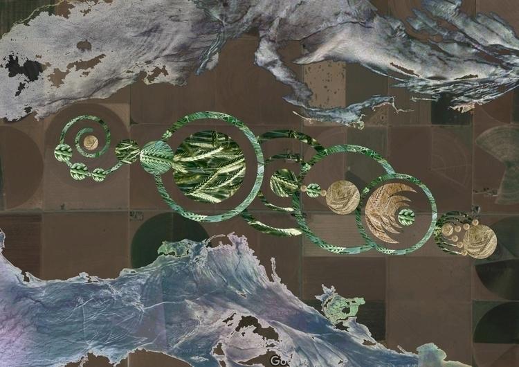 Crop - cropcircles, fields, googlemaps - mayayagoda | ello