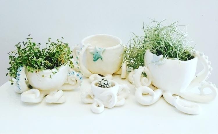 octopus planters trinket bowls - livingdecortwins | ello
