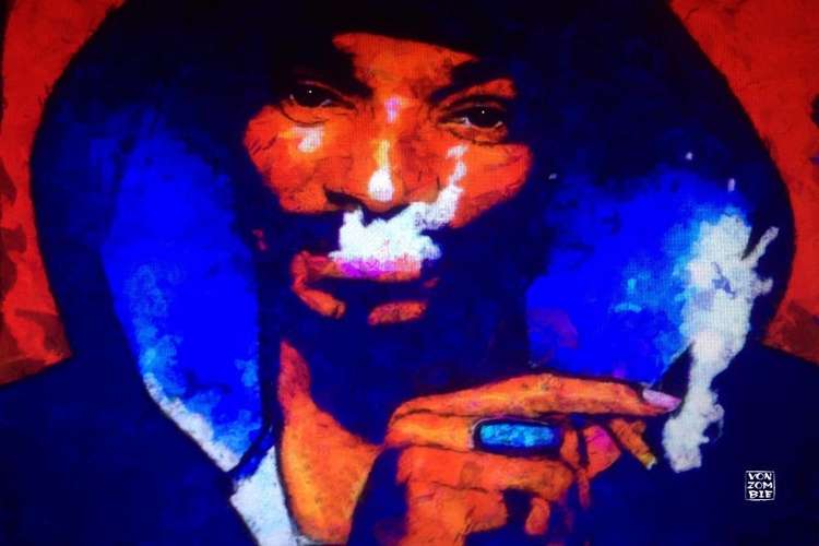 Snoop original piece created ac - vonzombie | ello