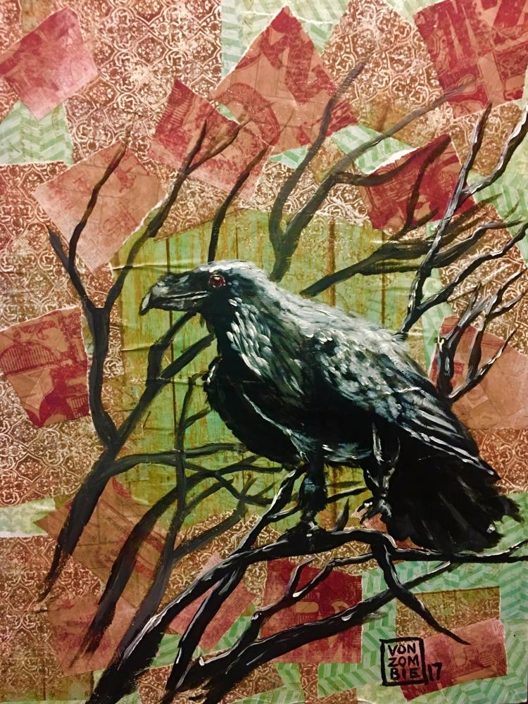 Crow 16 20 original piece creat - vonzombie | ello