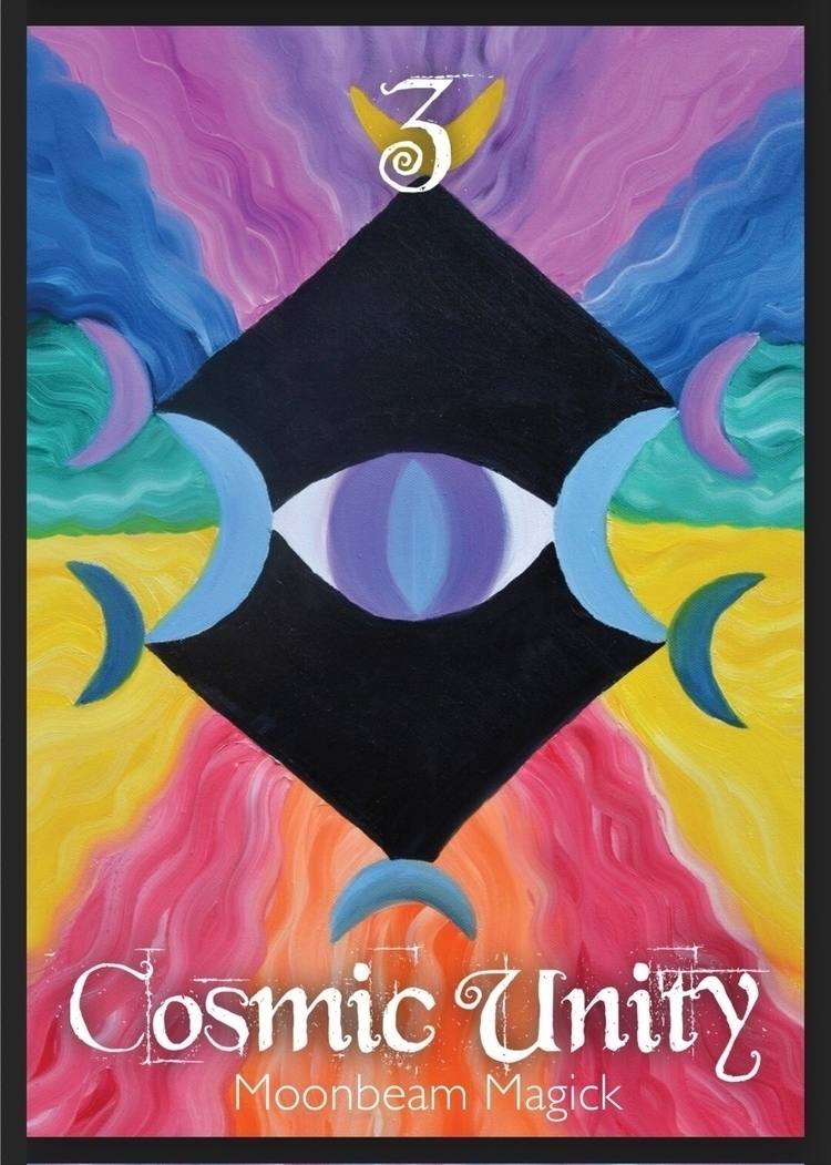 painting Cosmic Unity card orac - sapphiremoonbeam | ello