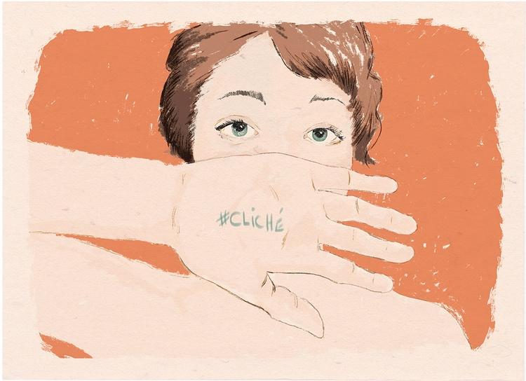 Cliché - illustration, dessin, drawing - zoe_vadim   ello
