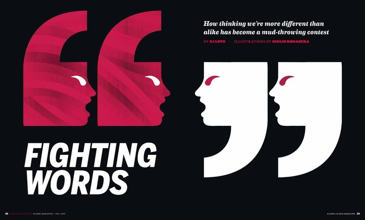 Fighting Words - Thinking Alike - giuliobonasera | ello