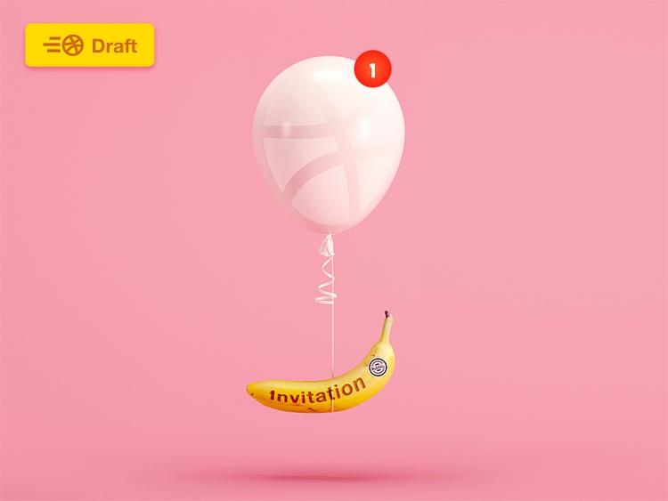 1 Dribbble Invitation giveaway  - tranmautritam | ello