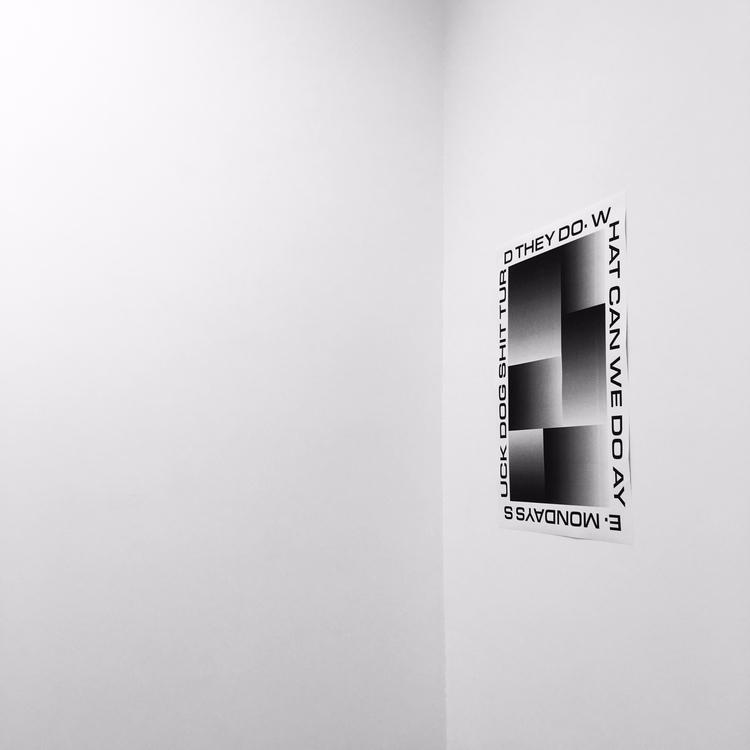 suck - poster, minimalism, typography - sammearns | ello