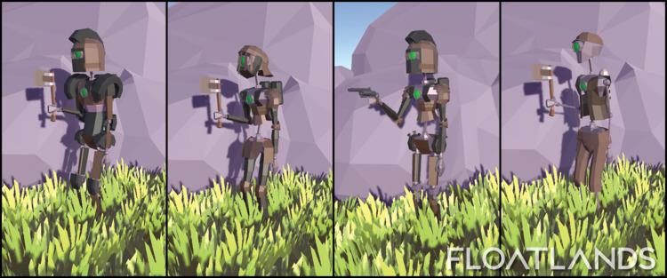player skins - 3D, gaming, design - floatlands | ello