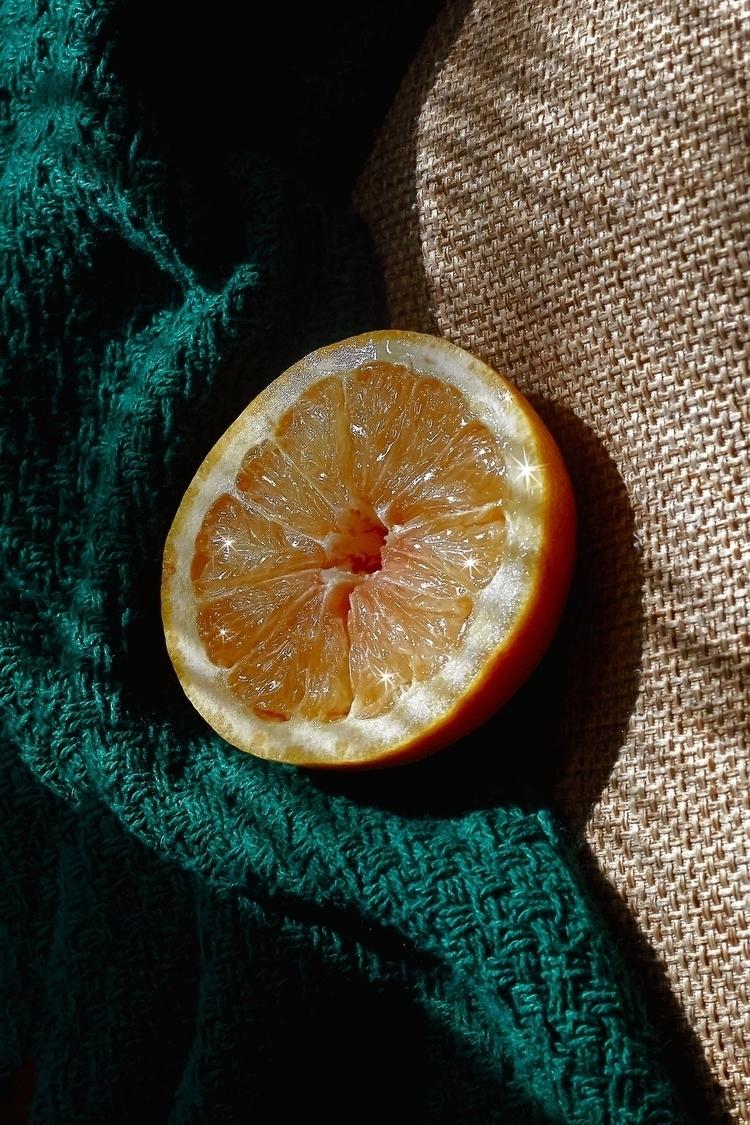 Grapefruit, Texture - cydneycosette | ello