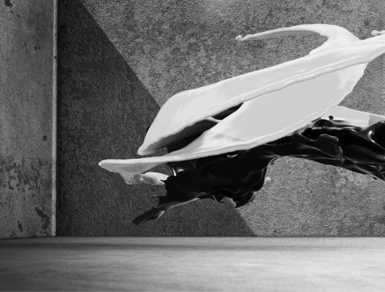 Hyperreal Fluids Experiment - 3D - momosby   ello