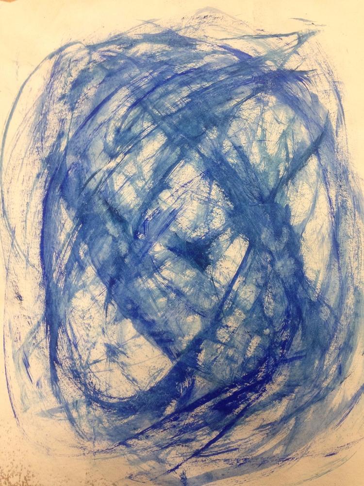 Lightheaded - art, acrylic - thinker | ello