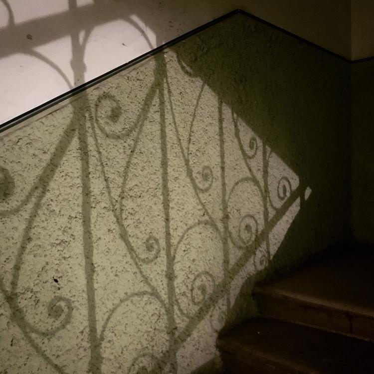Budapest, stairwell, nightphotography - carolinegreg | ello
