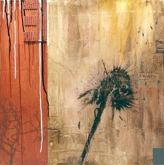 DANDELION. Mixed media, 600x600 - libikhouse | ello