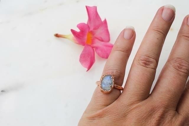 Moonstone ring - fivehandsstudio | ello