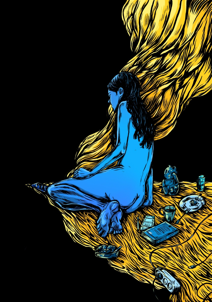 stay demons - wip, ilustração, ilustracion - nicolaenegura | ello