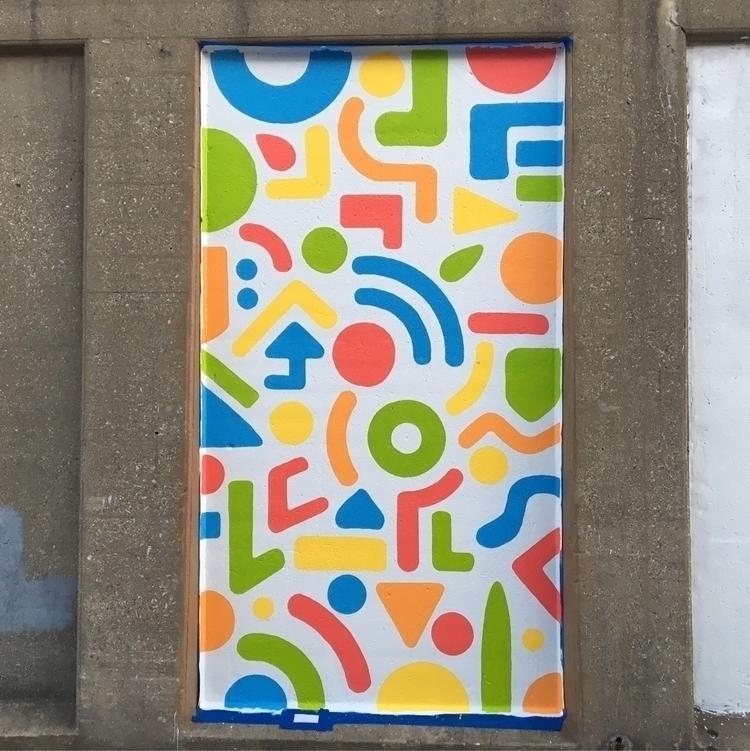 Day 1 mural complete - benjaminnelson | ello
