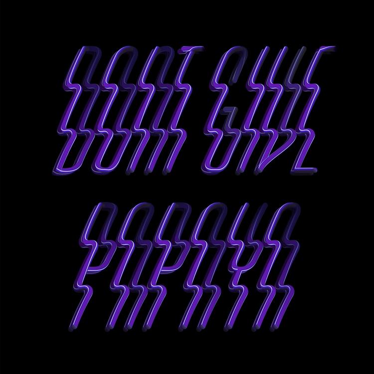 Dope Typography Ello give papay - elloblog | ello