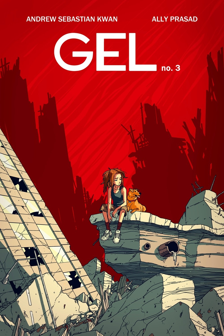 GEL Kickstarter Launched Brutal - comicbuzz | ello