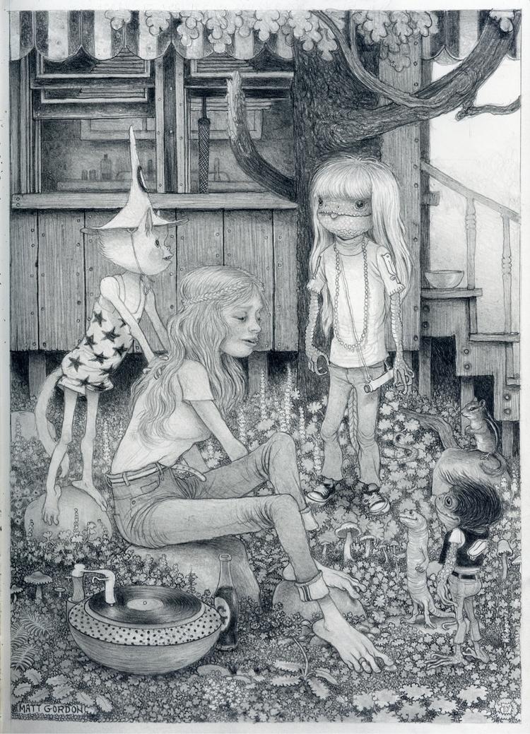 Long Weekend~ graphite moleskin - _mattgordon_ | ello