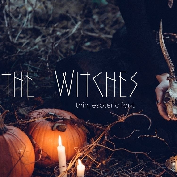 newest font - art, typography, witch - imknottangled | ello
