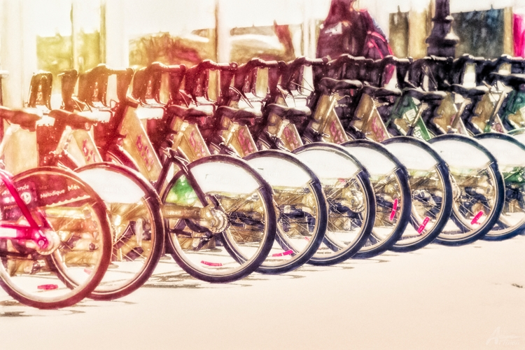 Vélo de Montréal - artmen | ello