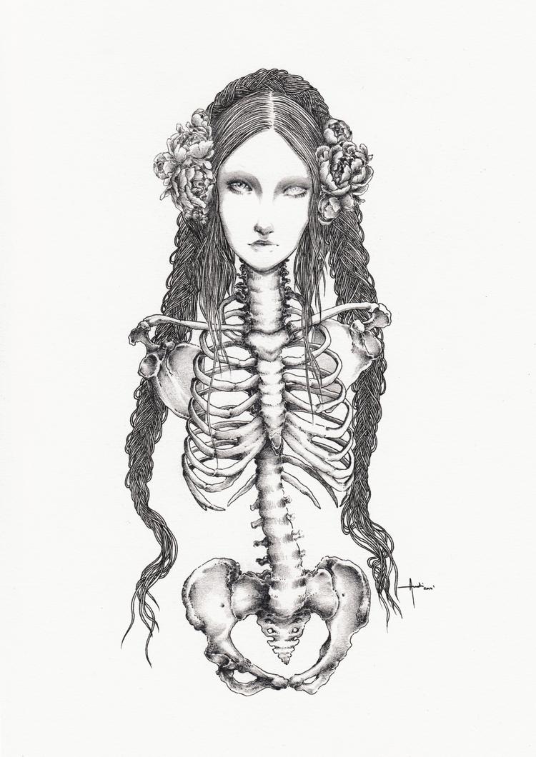 'Muñeca graphite ink DalerRowne - andimacka | ello