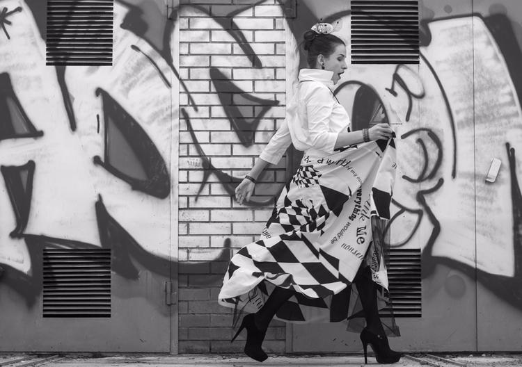 dress, felt, fashion, woman, style - anelestudio | ello