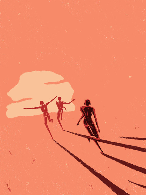 Africa - Book cover Behance Ins - laurent_illo | ello