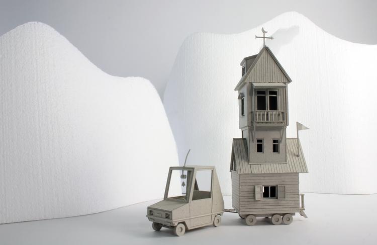Camper, cardboard miniature scu - veravanwolferen | ello