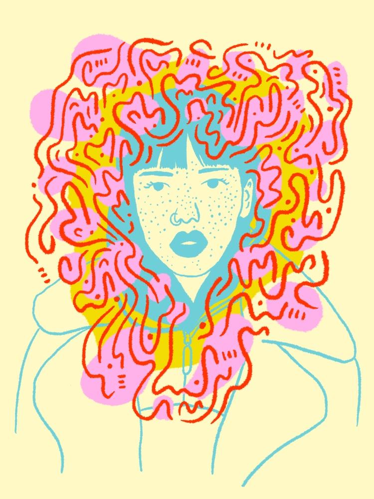Wild Crown - illustration, illustrator - heybop | ello
