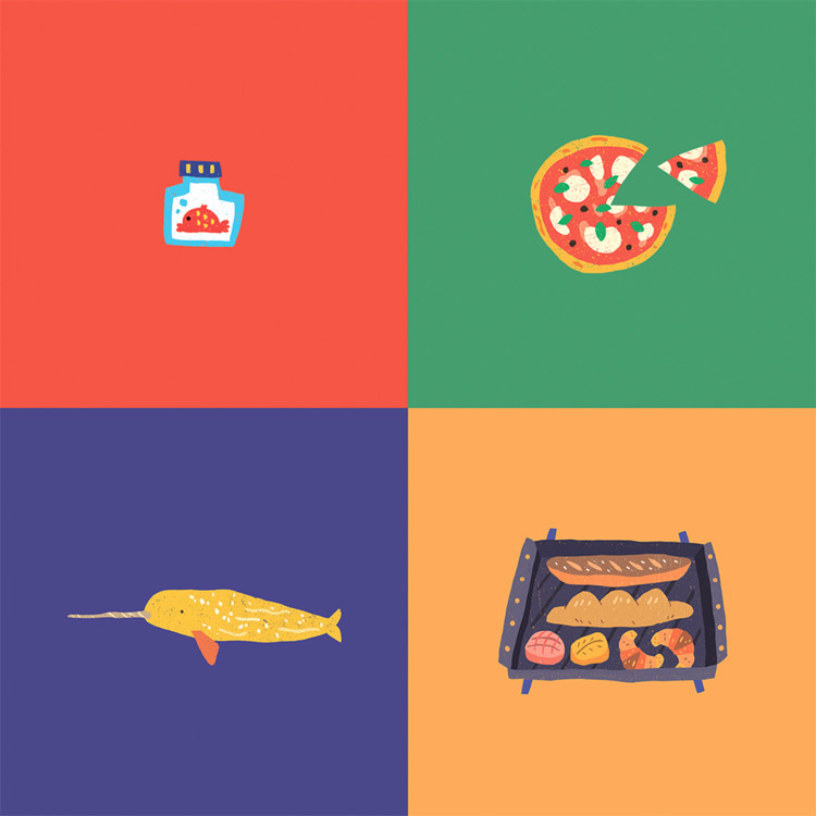 taipera.com - illustration, pizza - tai_pera | ello