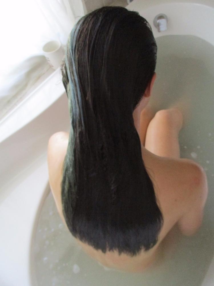 Wet *moans quietly - hair, bath - pleasantcynic | ello