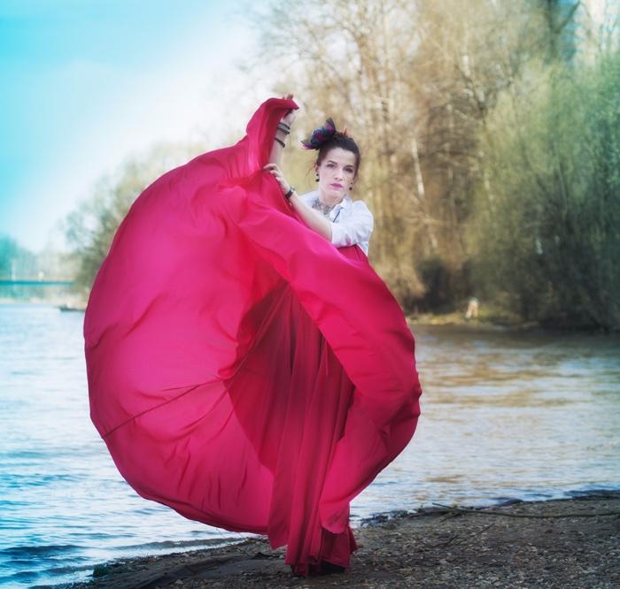 dress, red, photo - anelestudio | ello