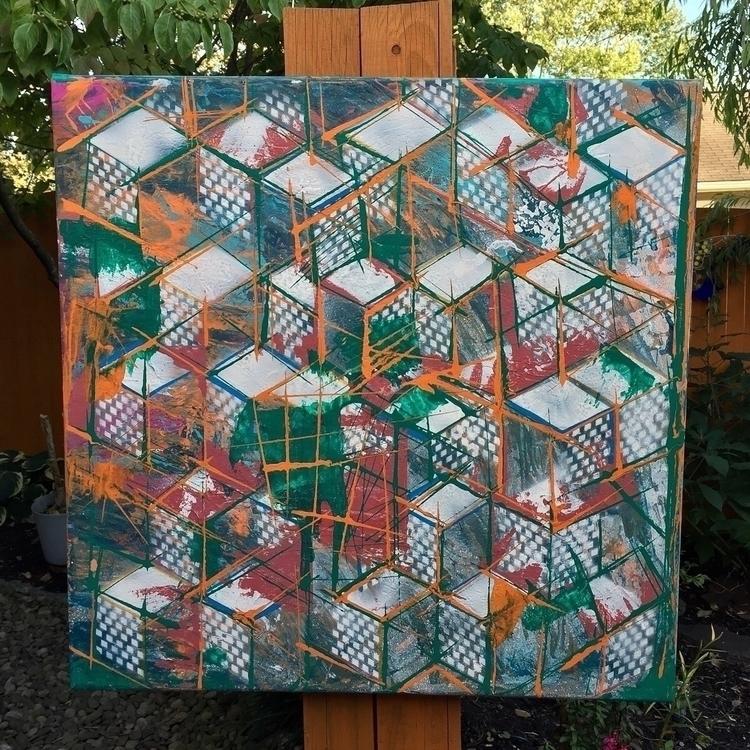 Working squares!!!#modernart ar - nash-heff | ello