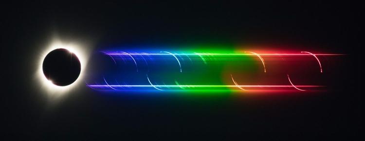 Flash Spectrum Sun - sun, moon, eclipse - valosalo | ello