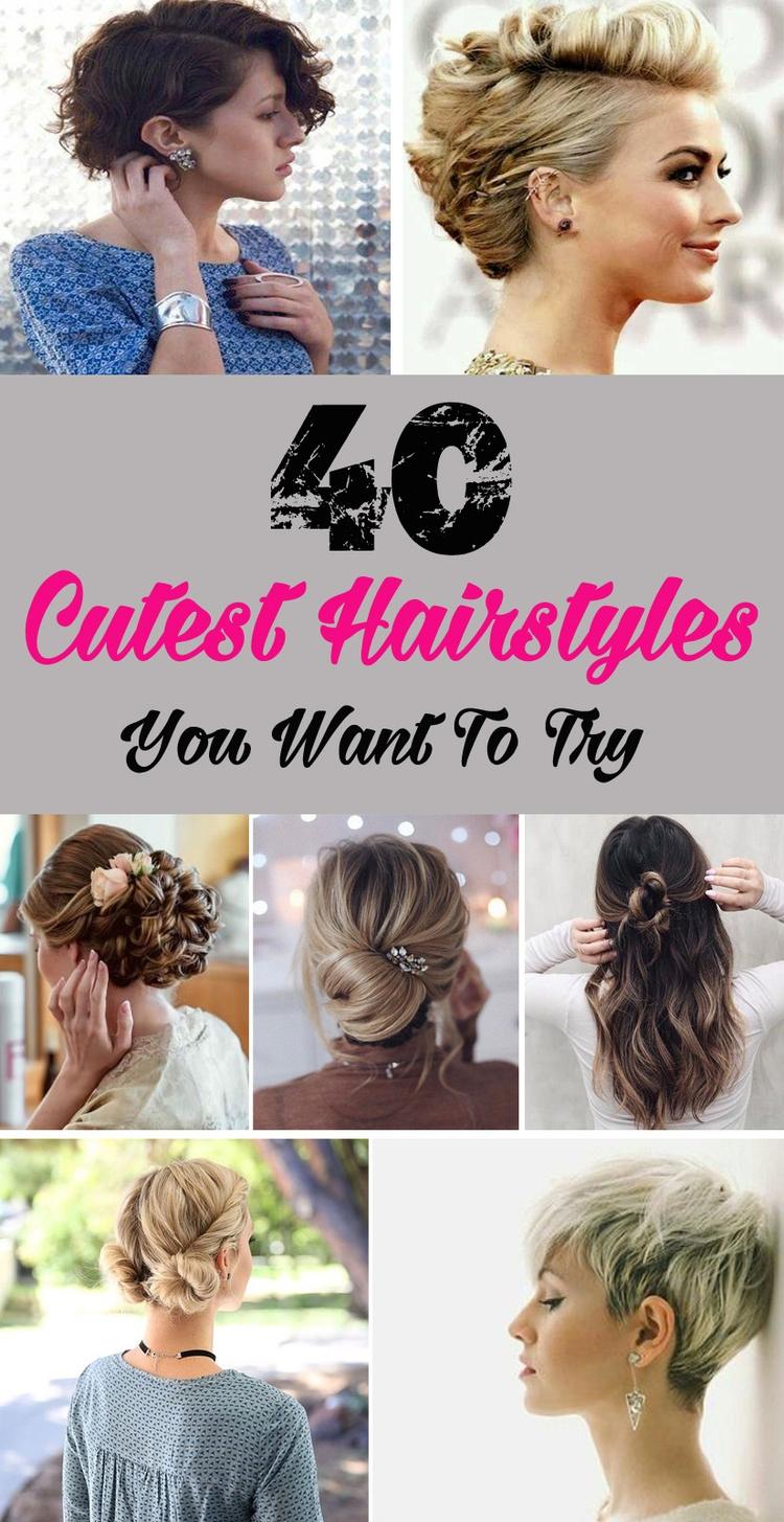 40 Cutest Hairstyles - achristiansg | ello