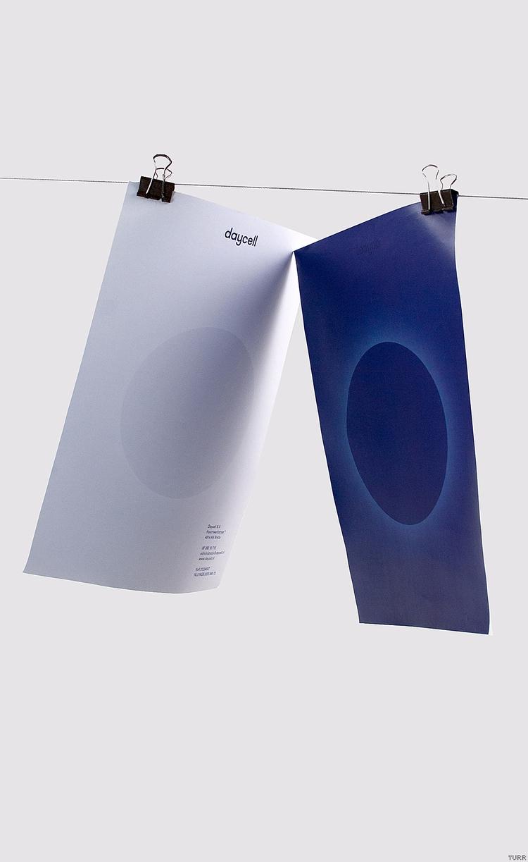 Daycell ~ Briefpapier - letterhead - yurrstudio   ello