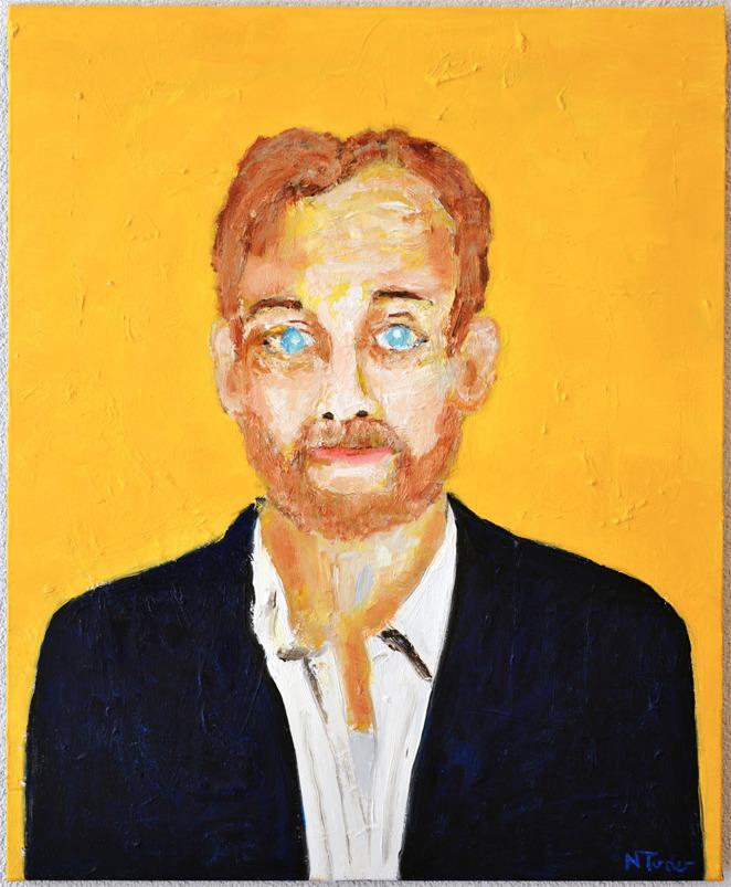 Bill Murray - oil canvas, 28 1 - nealturner | ello