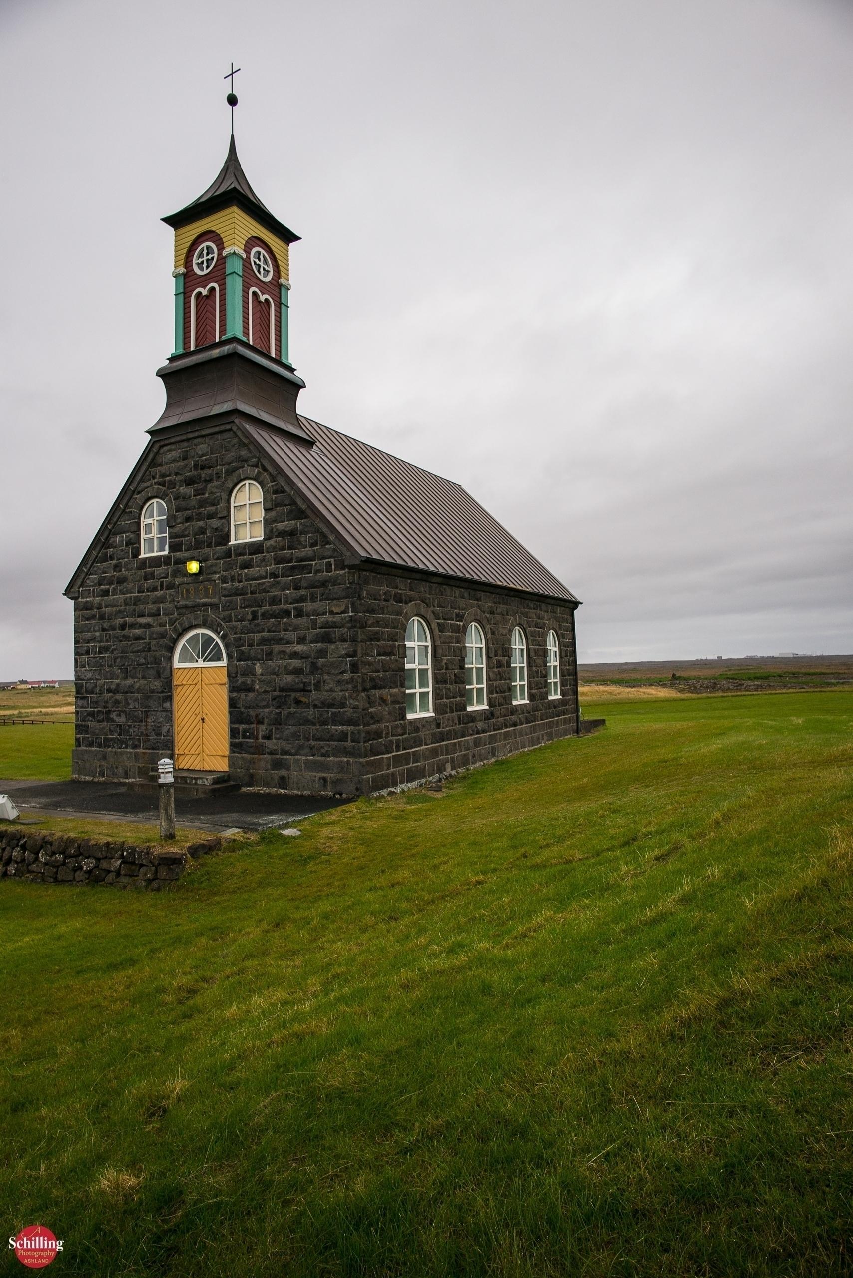 Hvalsneskirkje; Lava Church Hva - augustschilling | ello