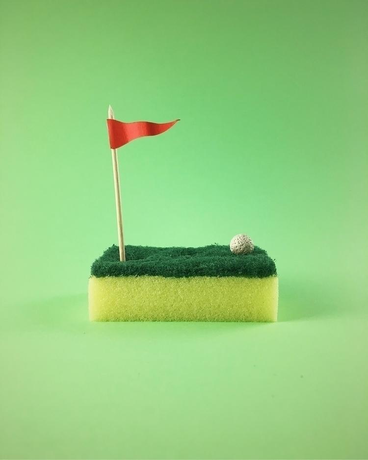 Putting sponge - dailyart, minimal - jogeluspogelus | ello