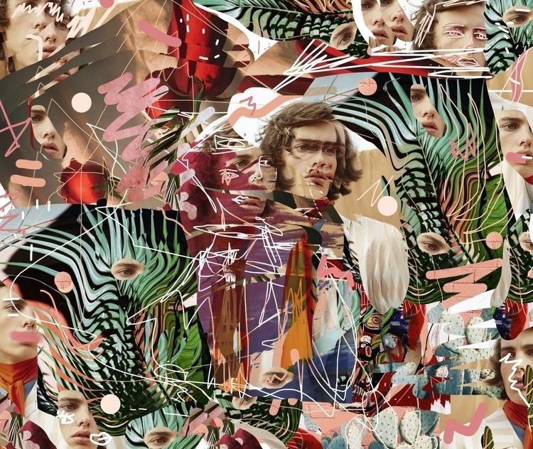 Art collage Paul Guerrero Model - paulguerrero | ello