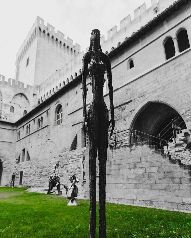 Captured nice sculpture Avignon - ryanmoppo | ello