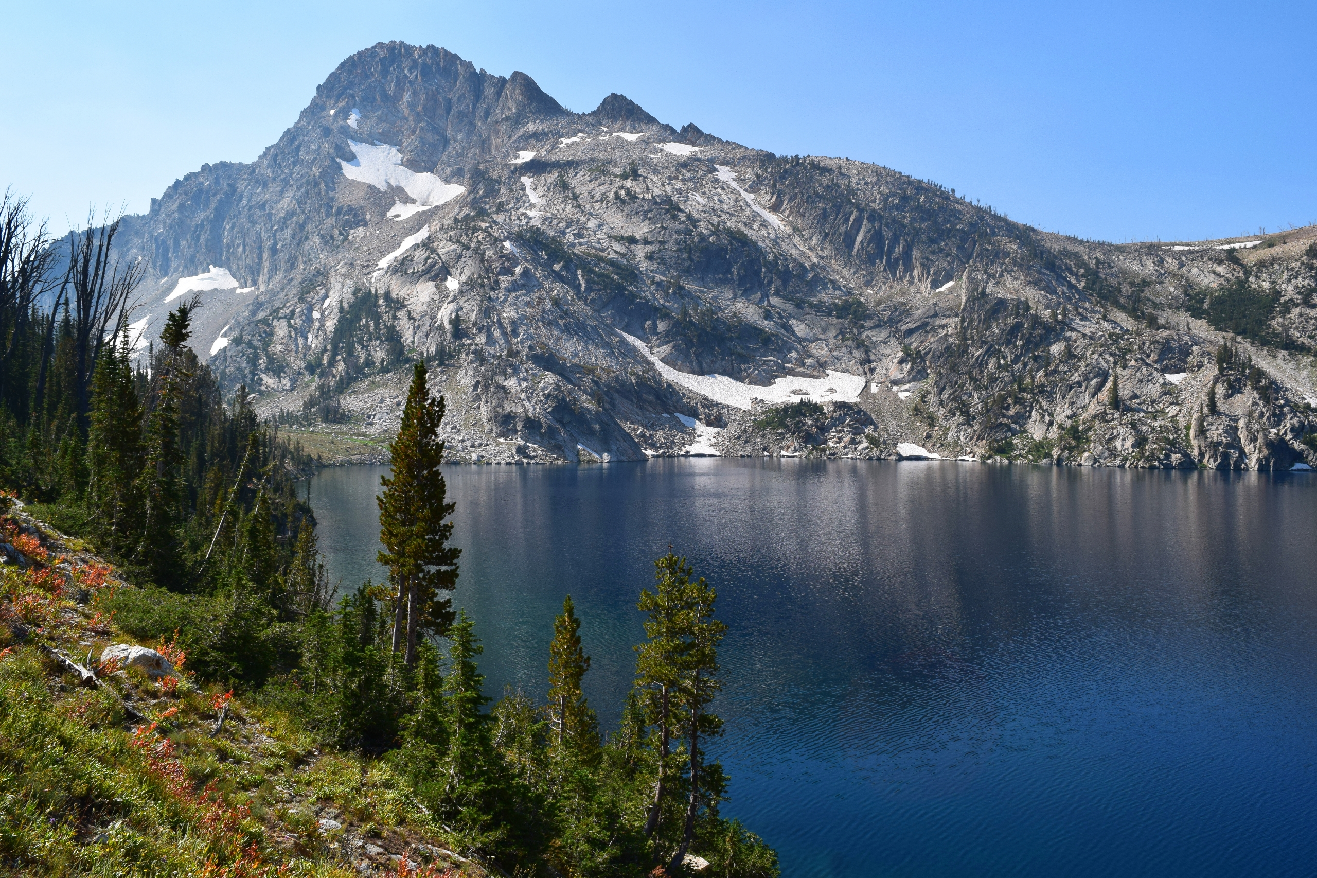 epic backpacking trip Lake Sawt - cokes   ello