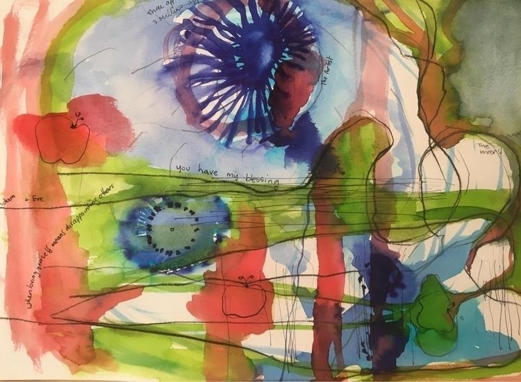 Abstract 19/52 dream love - art - arnabaartz | ello