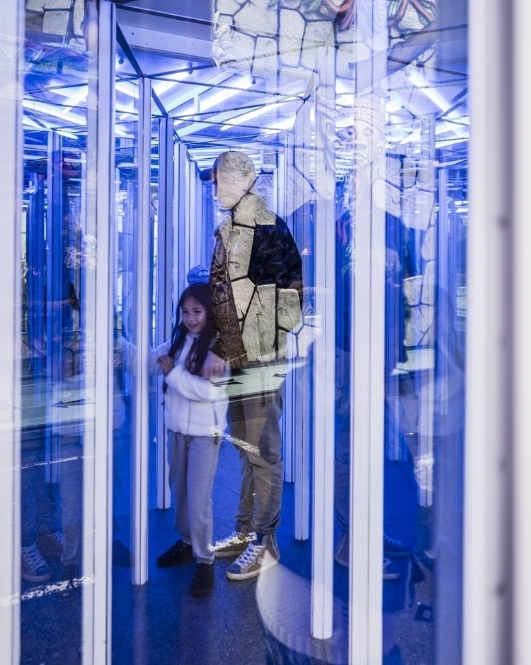 Glass labyrinth - luxembourg, luxembourgcity - cdelas | ello