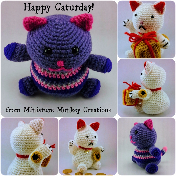 today Find cuddly friend, felin - miniaturemonkeycreations | ello